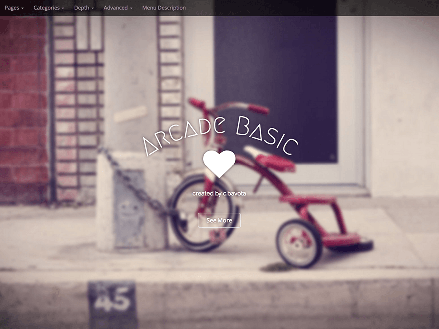 free wordpress themes built with bootstrap arcade basic