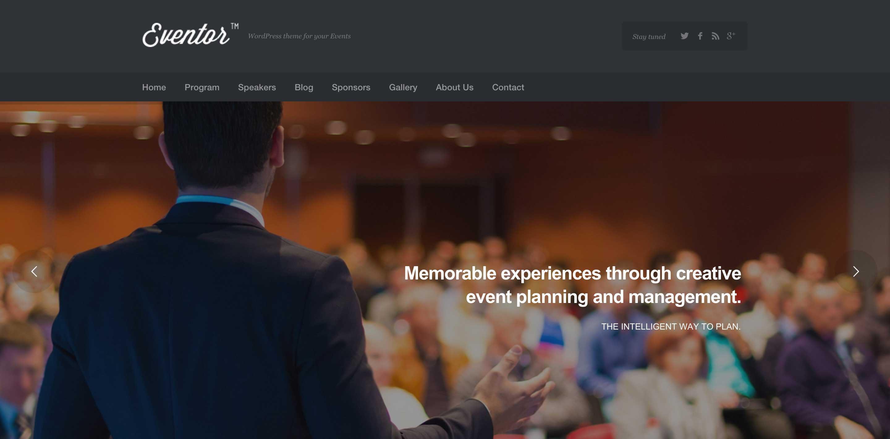 eventor event wordpress themes