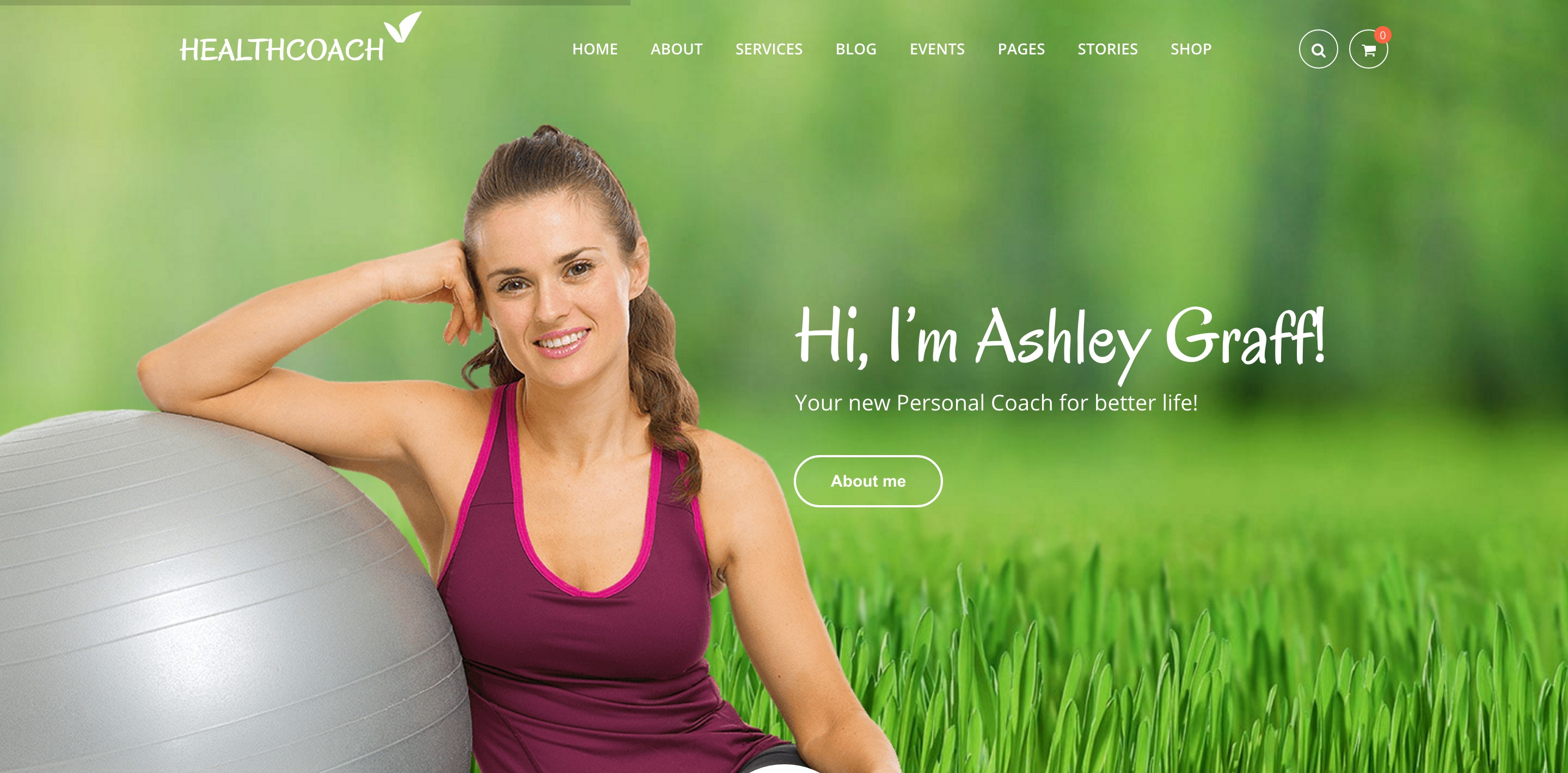 health coach medical WordPress themes