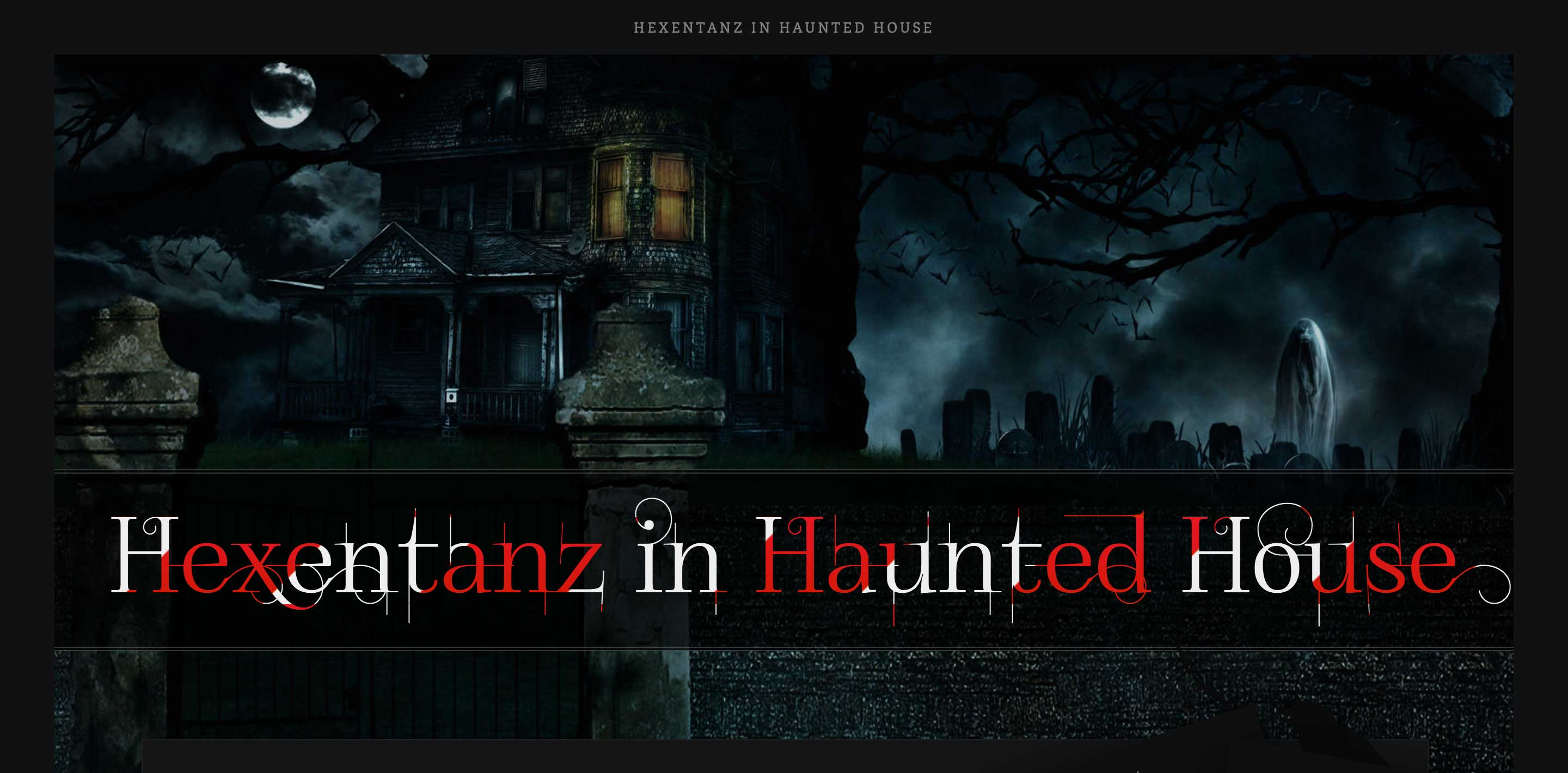 hexentanz horror halloween event wordpress themes