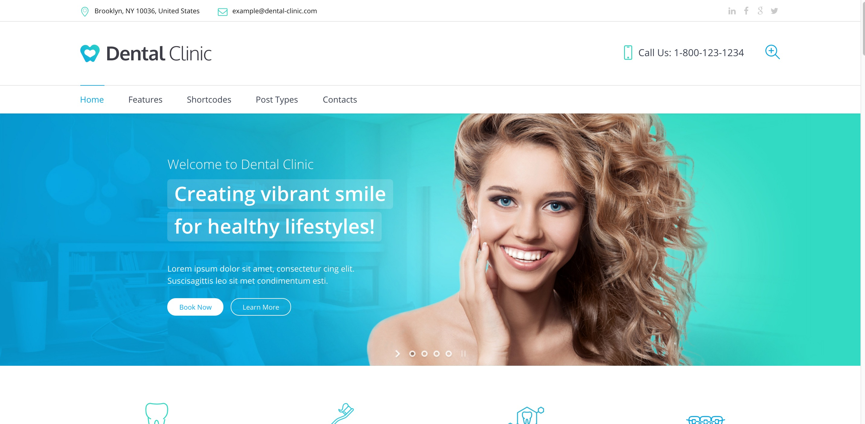medical dentist medical WordPress themes