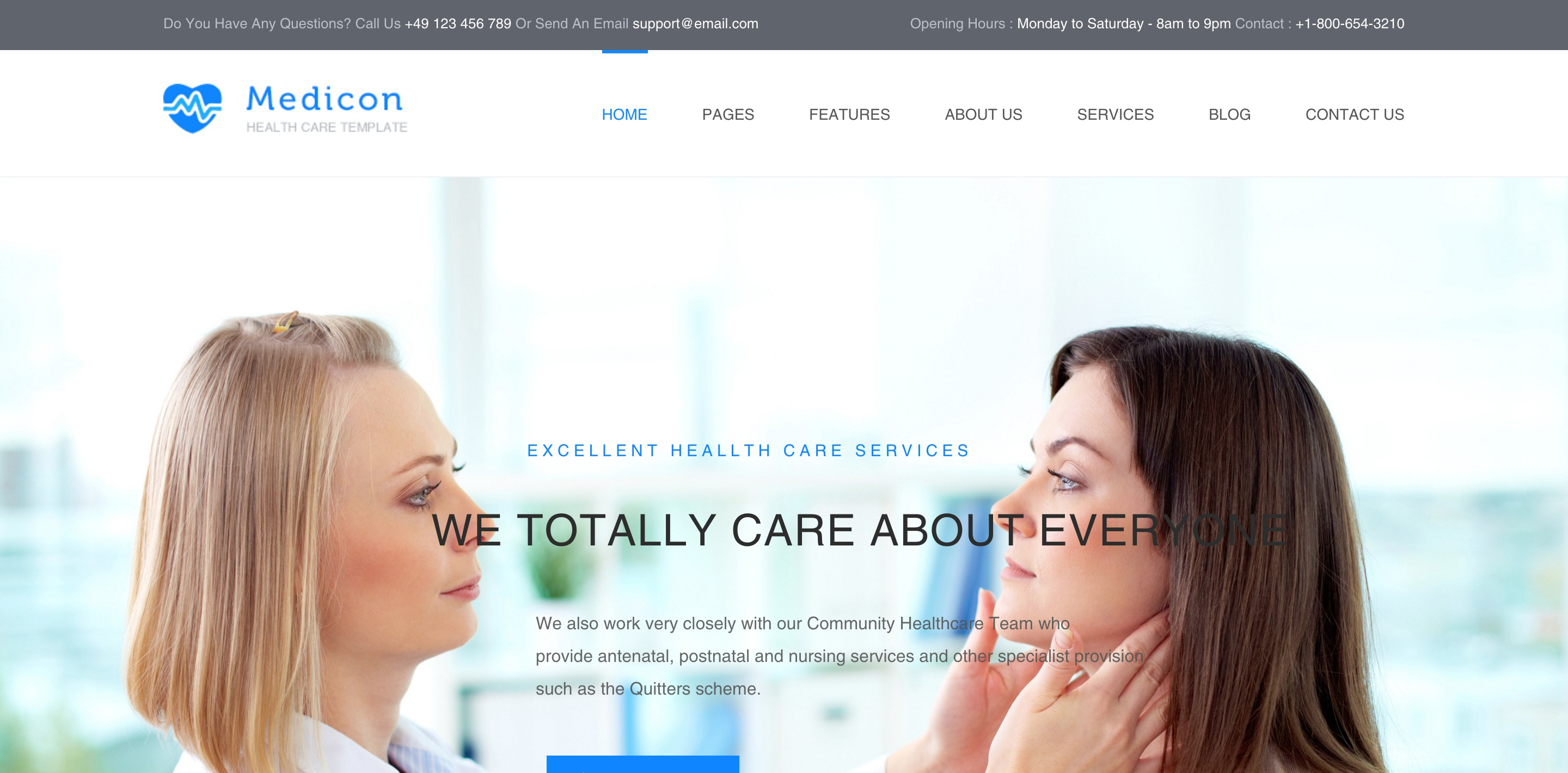 medicon medical WordPress themes