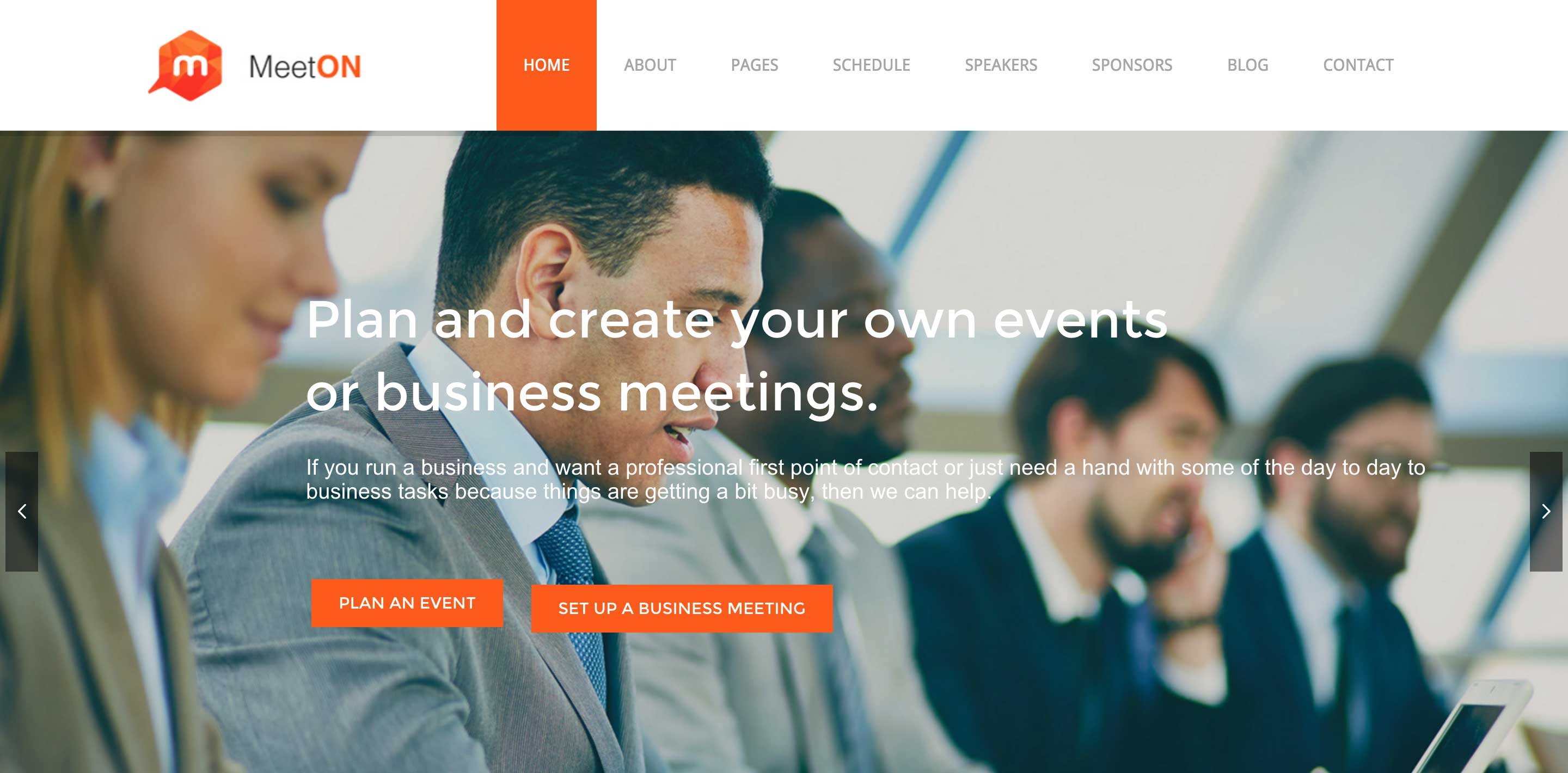 meeton event wordpress themes