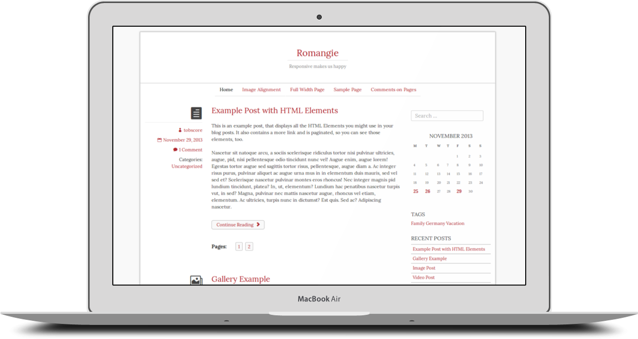 free wordpress themes built with bootstrap romangie
