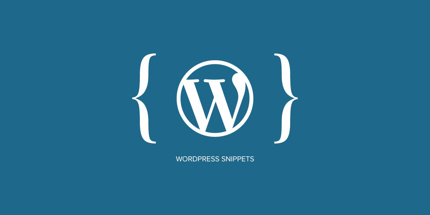 wpflask-wordpress-snippets