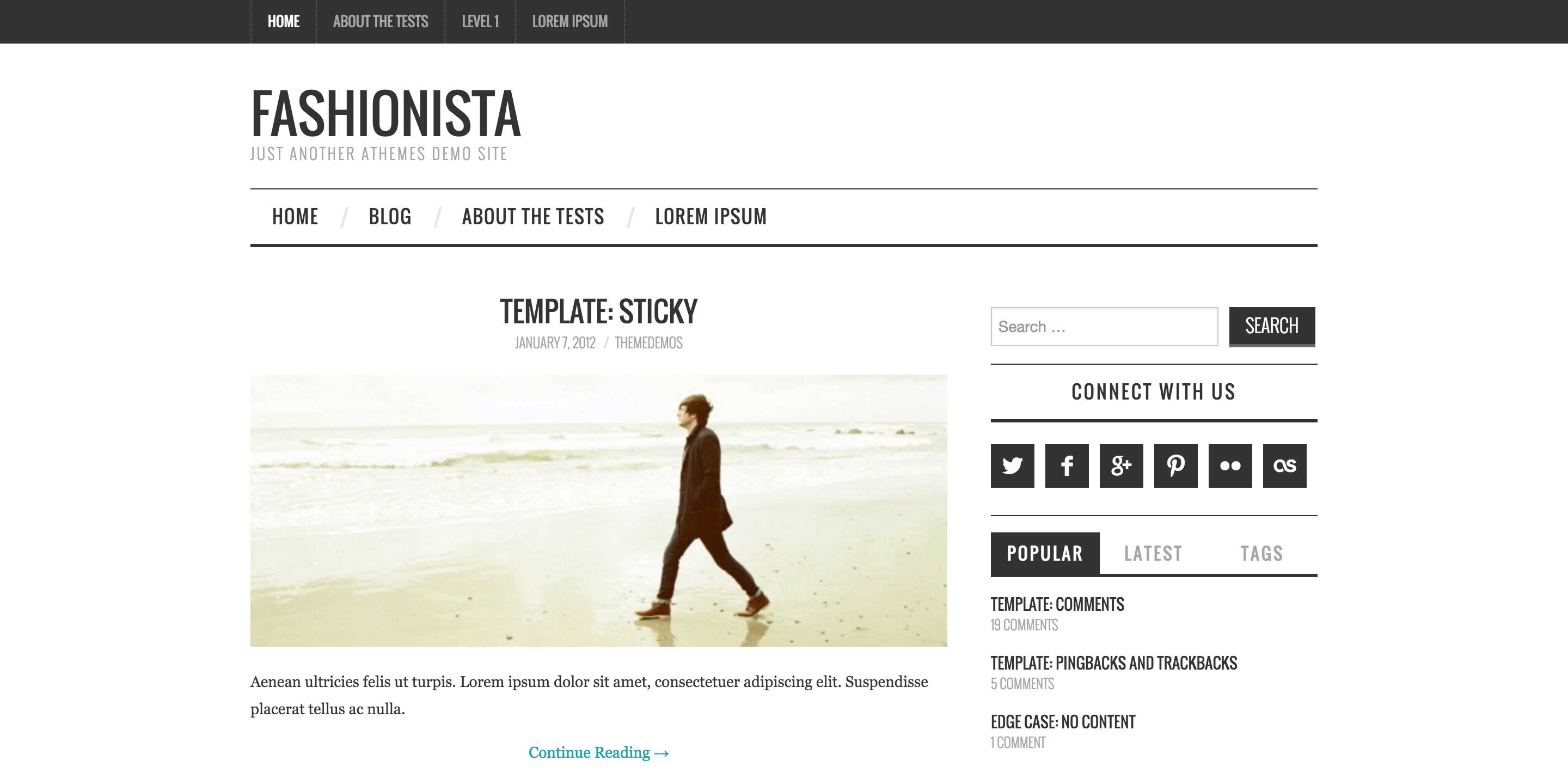 fashionista free magazine wordpress themes
