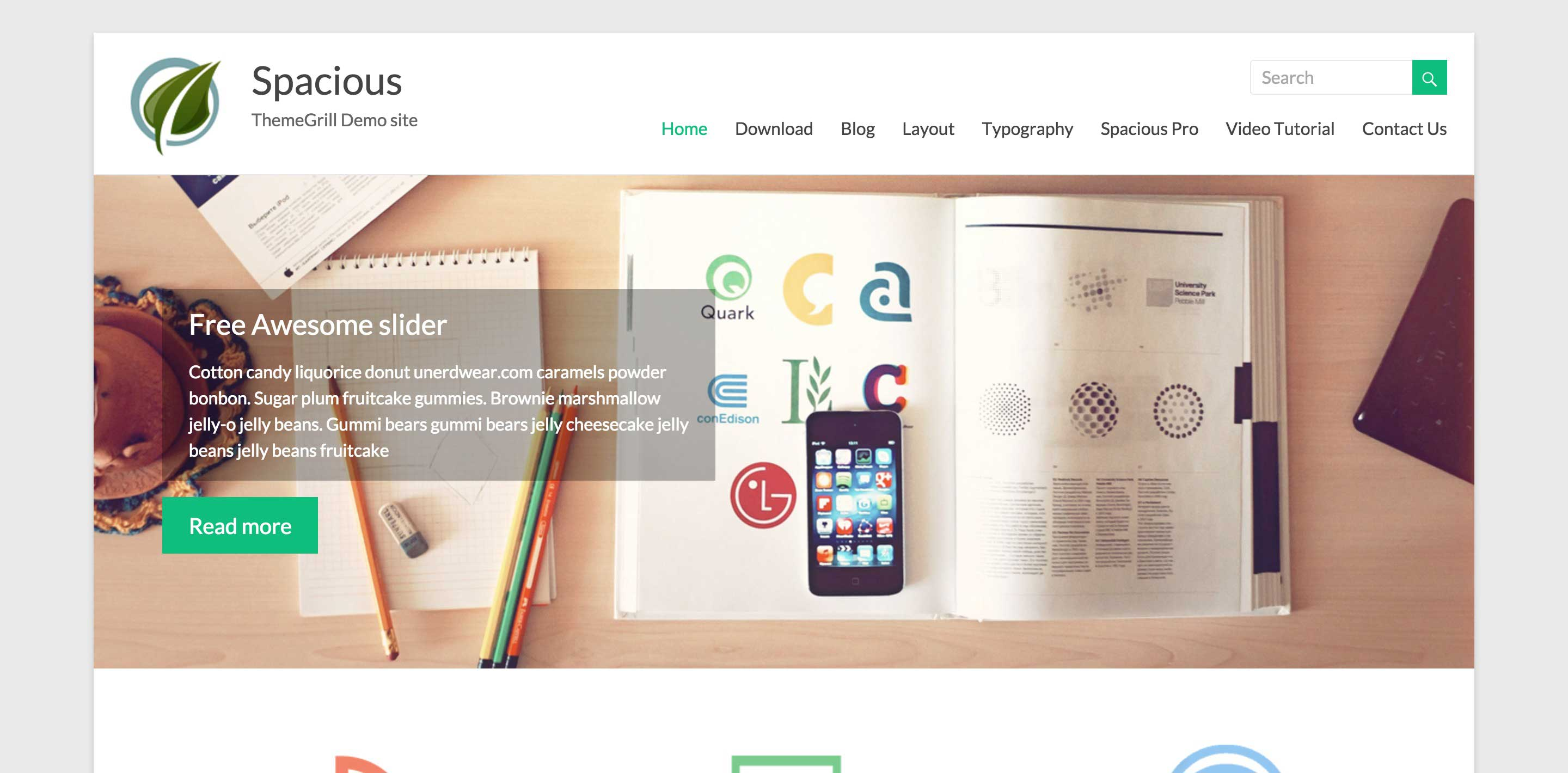 spacious free magazine wordpress themes