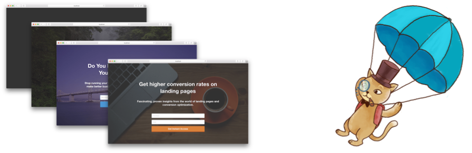 Landing Page Cat – WordPress Landing Page Plugin