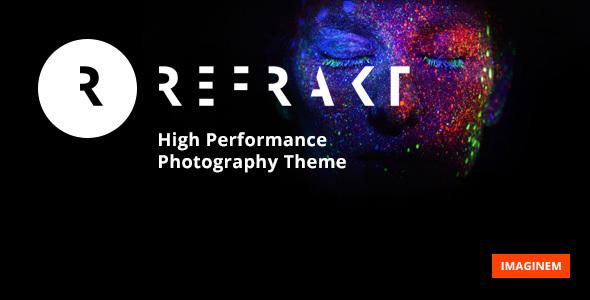 Refrakt | High Performance Photography Theme