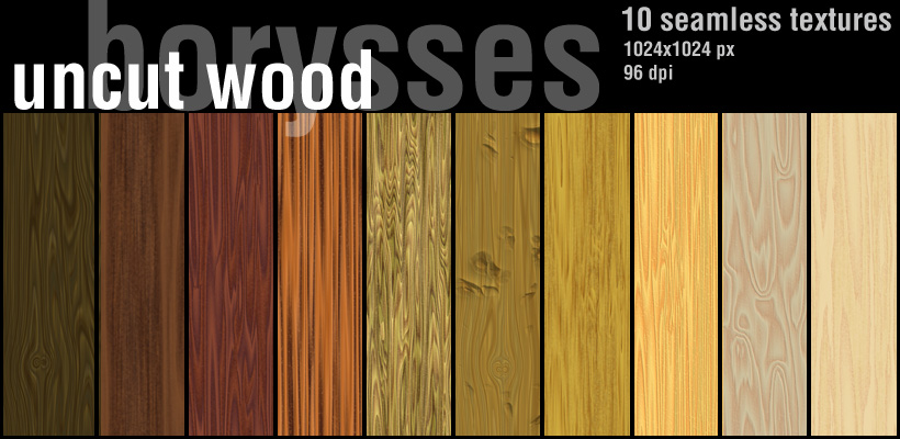 Wood Uncut Seamless Textures