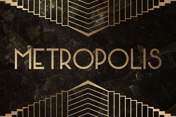 15 Best Free Art Deco Fonts
