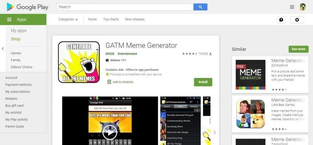 Apps for Making Memes