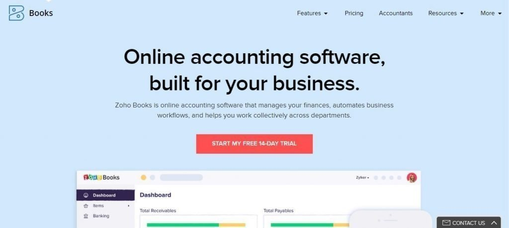 Small Business Accounting Softwares